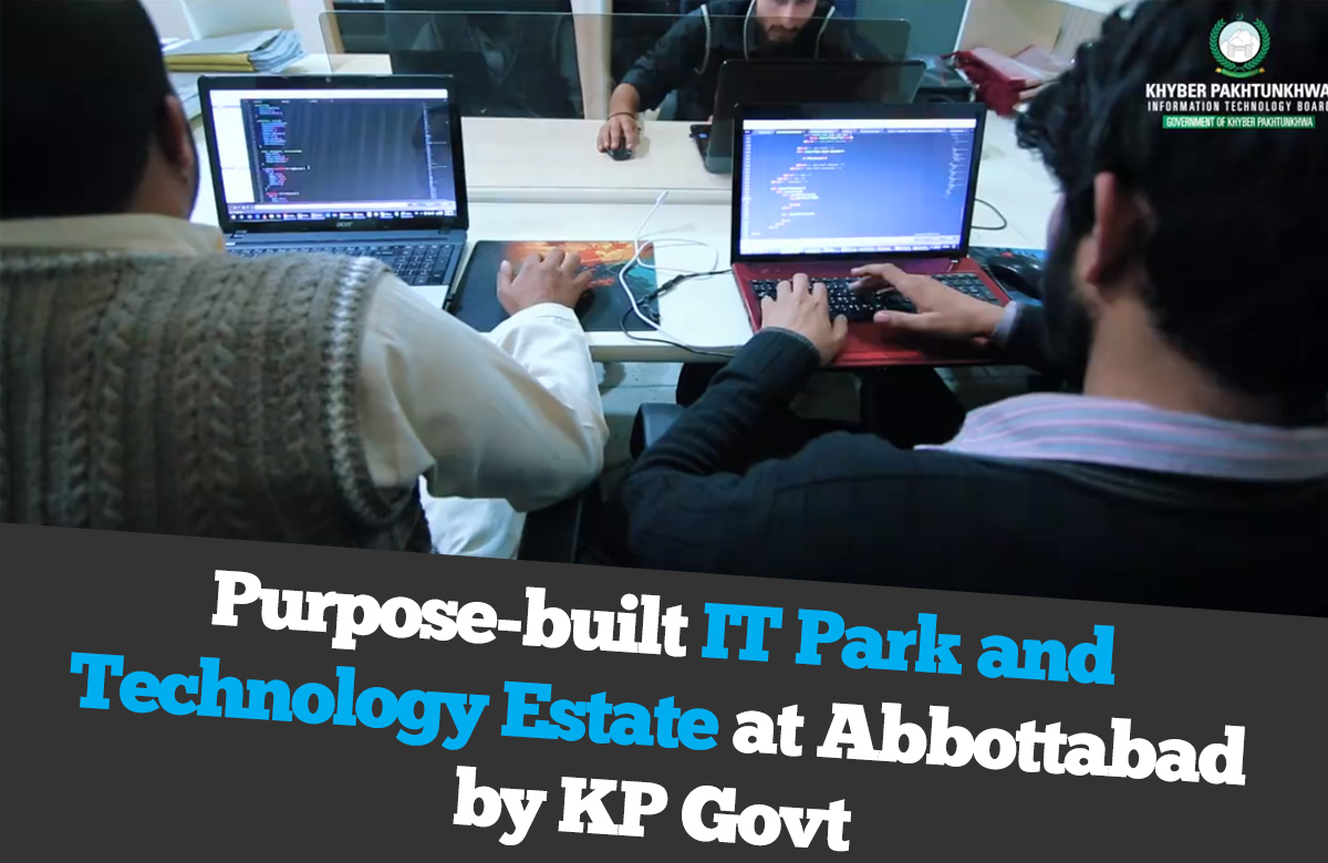 IT Park by KP Govt in Abbottabad.