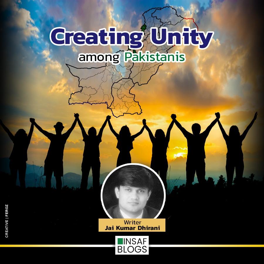 Creating unity among nation - Insaf Blog