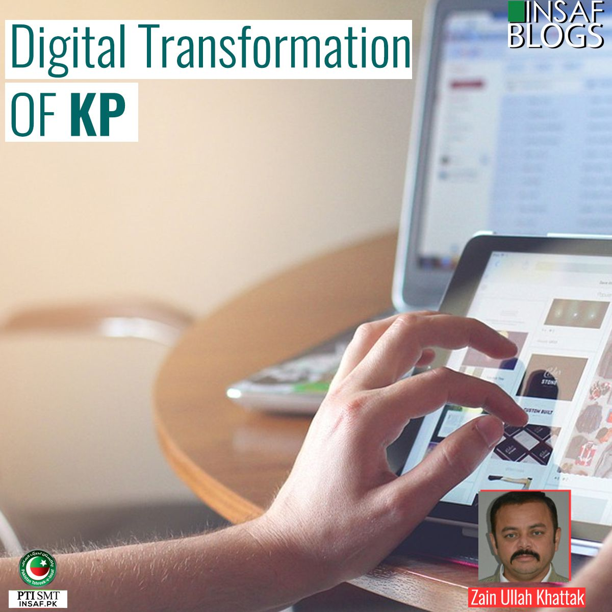 Digital Transformation OF KP - Insaf Blog
