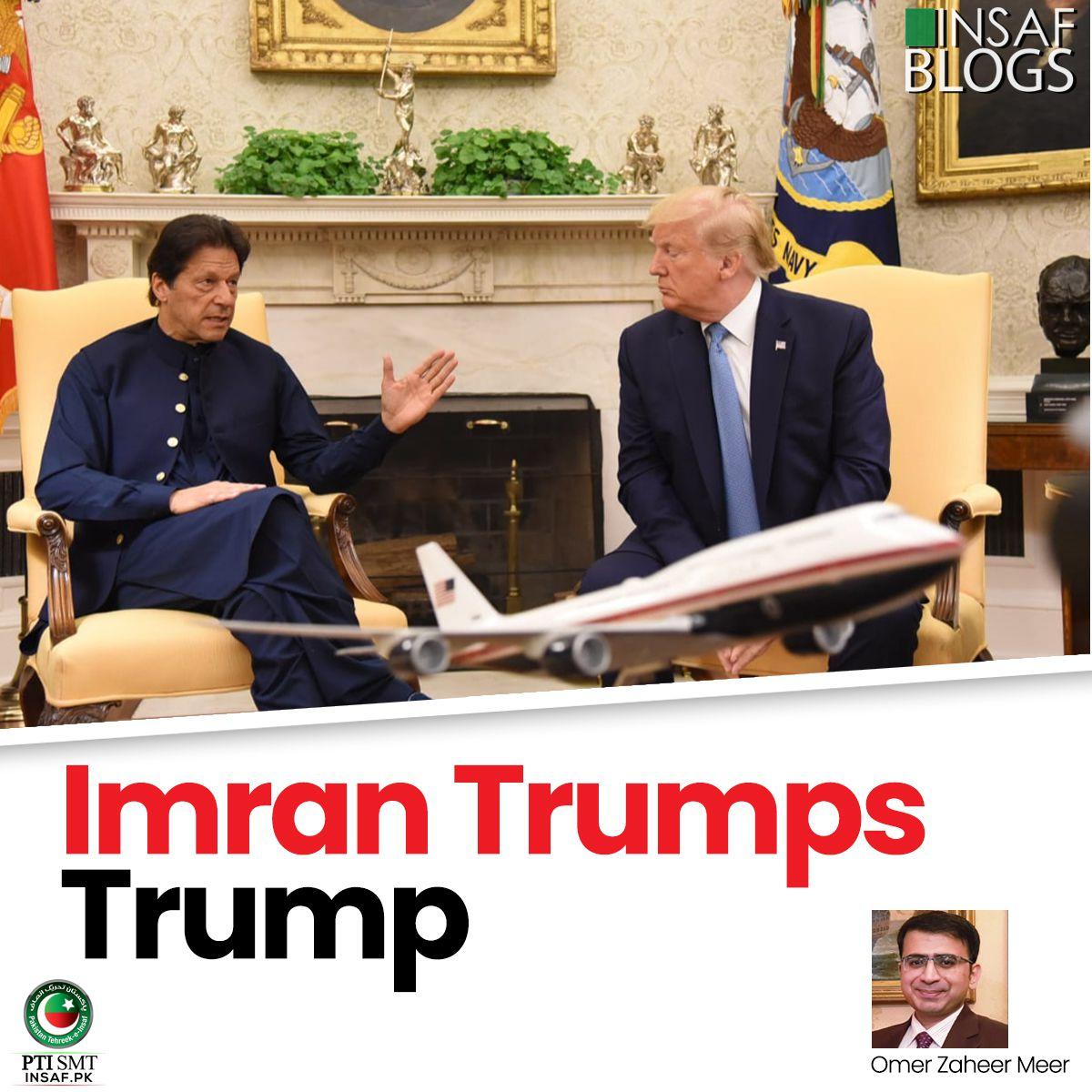 Khan Trumps Trump Insaf Blog