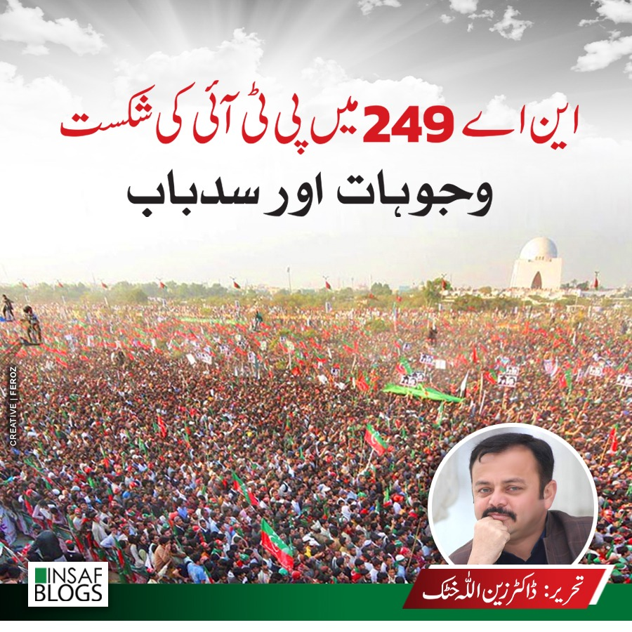 NA 249 and PTI - Insaf Blog