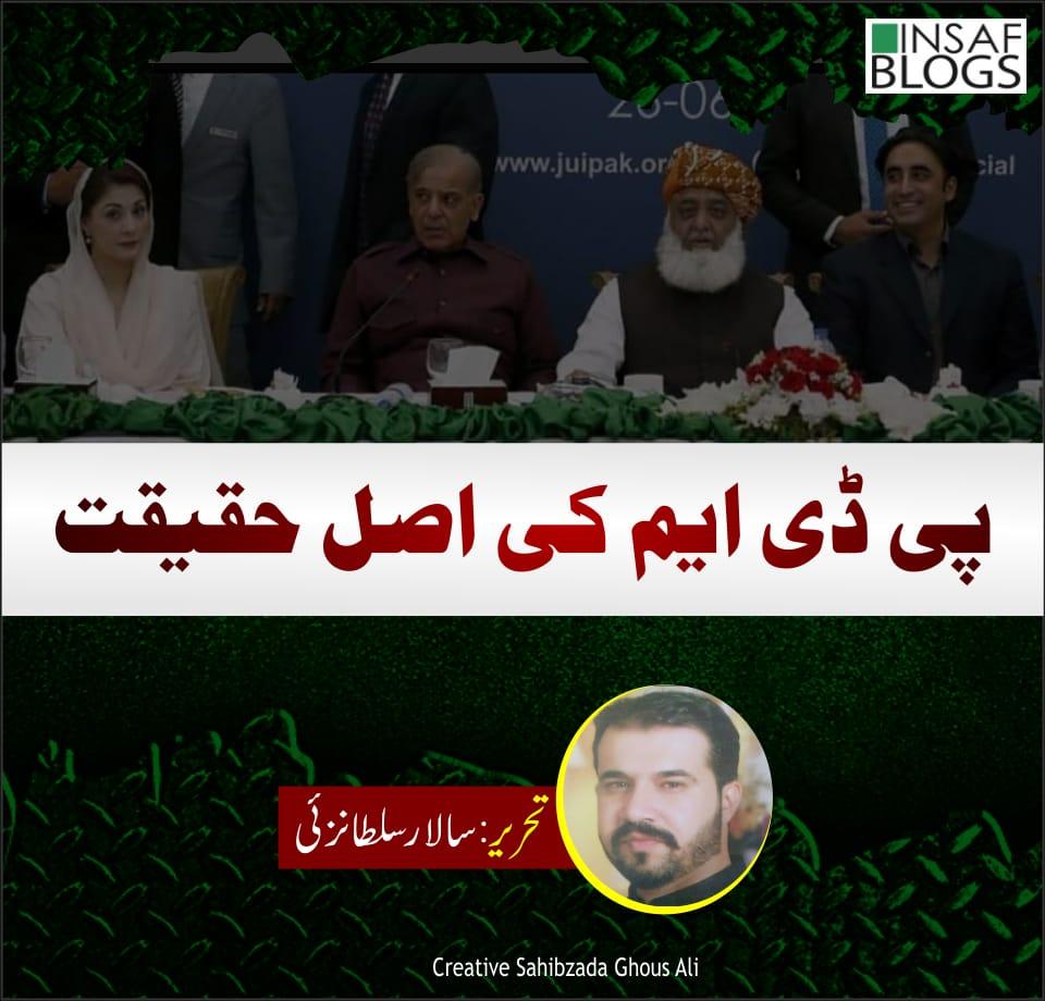 PDM Ki Haqeeqat Insaf Blog