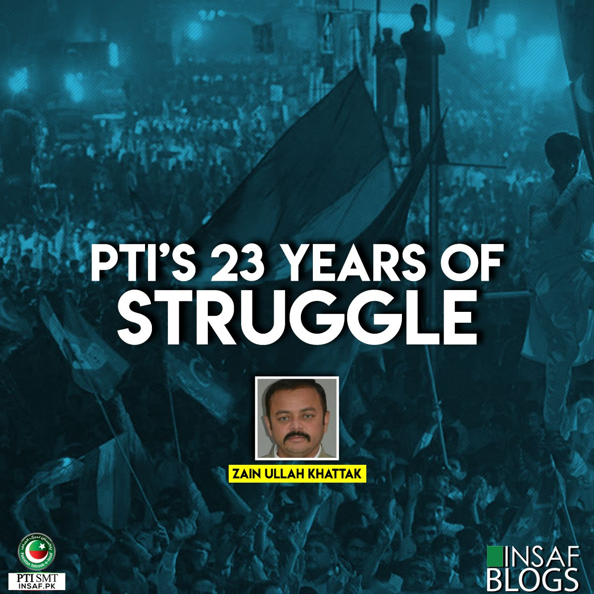 PTI's 23 Years Of Struggle - Insaf Blog