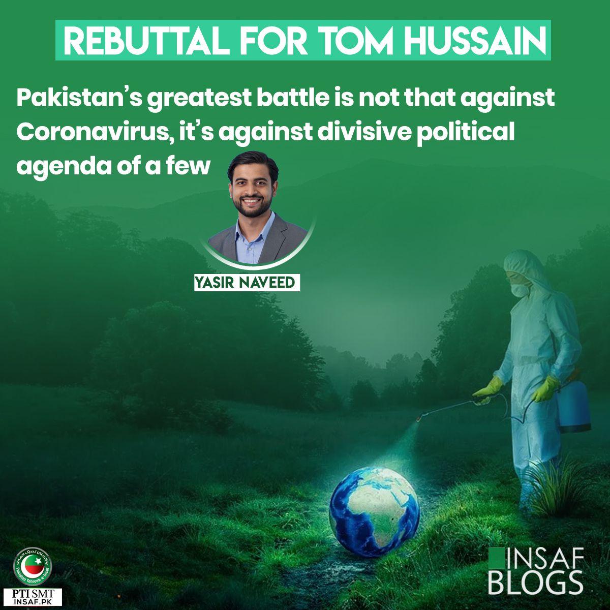 Rebuttal Tom Hussain