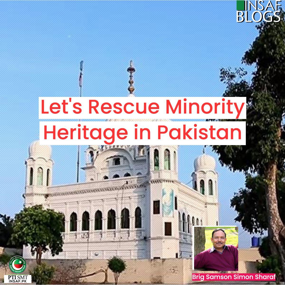 Rescue Minority Heritage in Pakistan Insaf Blog