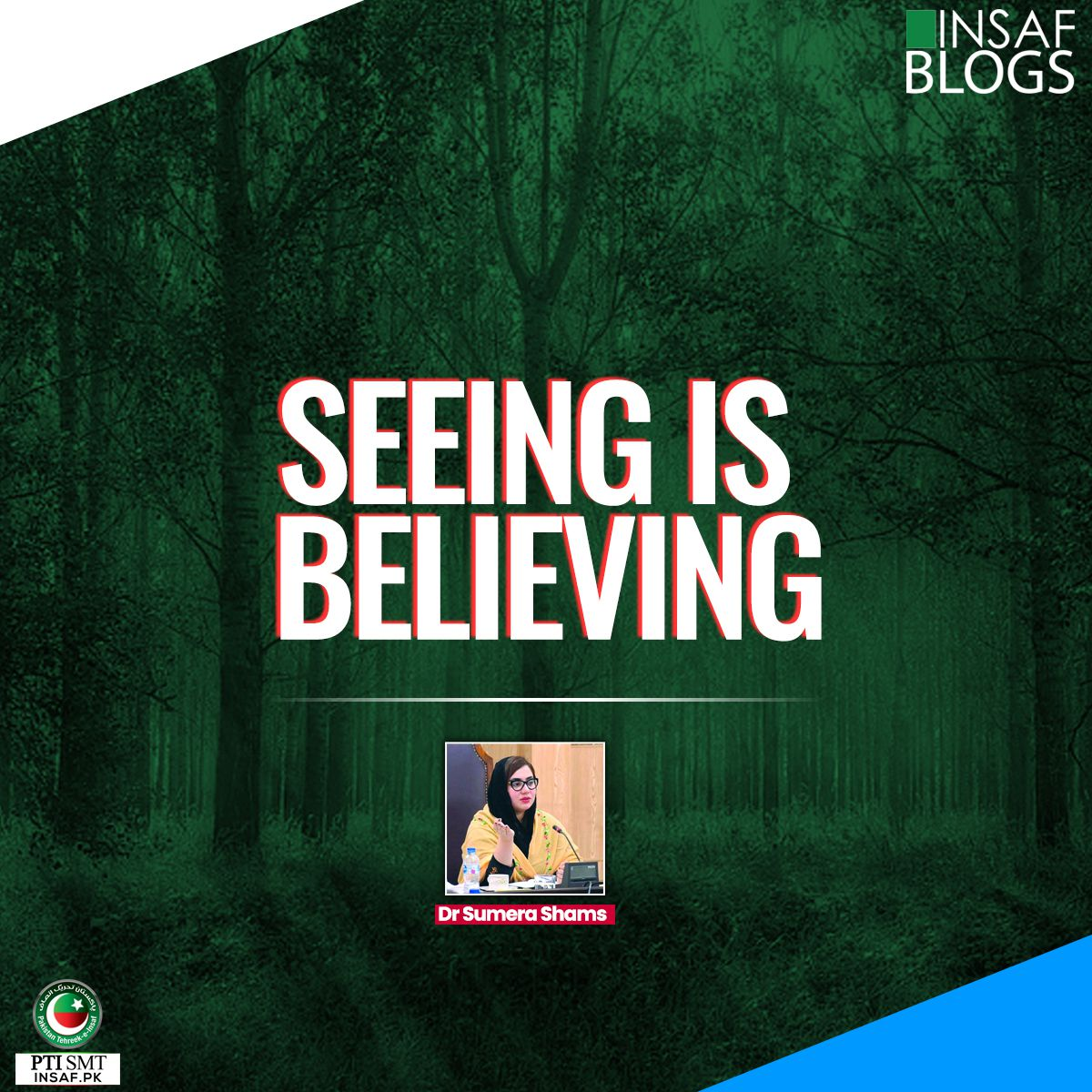 Seeing is Believing-Insaf-Blog