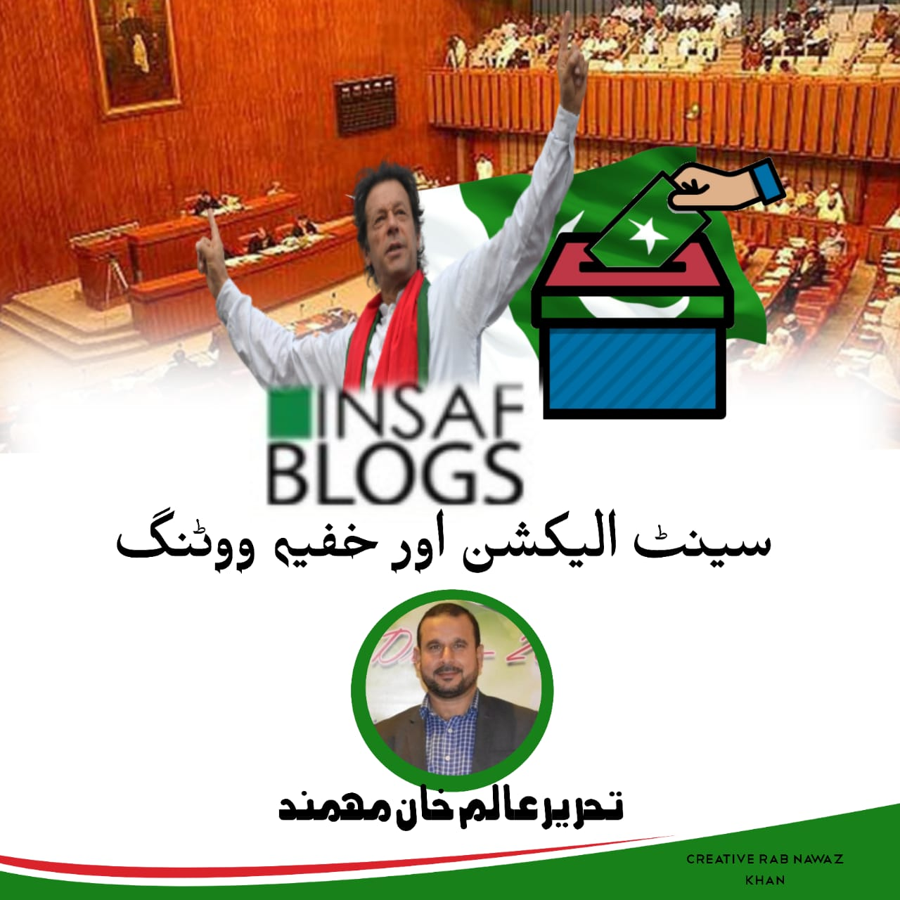 Senate Election and Secret Balloting - Insaf Blog
