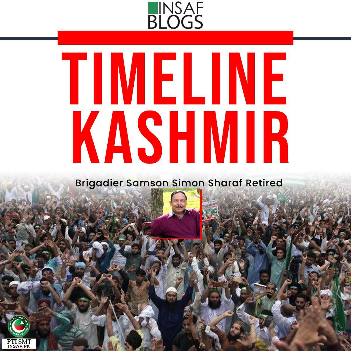 TIMELINE KASHMIR Insaf Blog