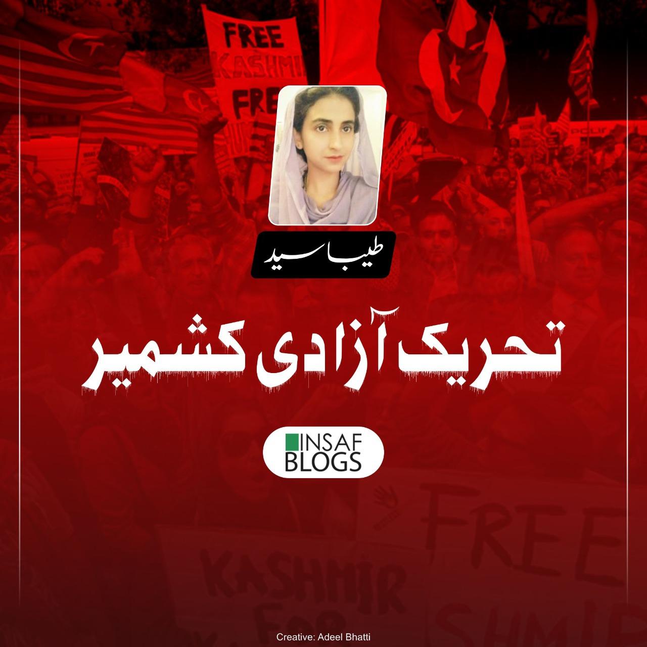 Tehreek E Azadi Kashmir Insaf Blog