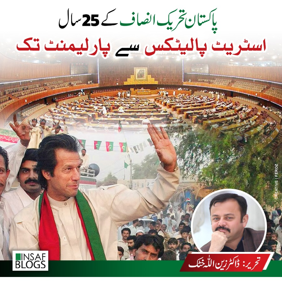 The 25 Years of PTI - From Street Politics to Parliament