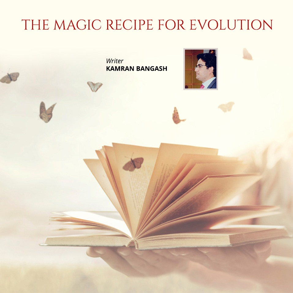 The Magic Recipe of Evolution - Insaf Blog