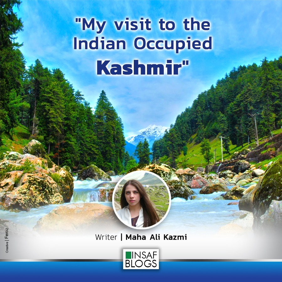 My Visit to Indian Occupied Kashmir: