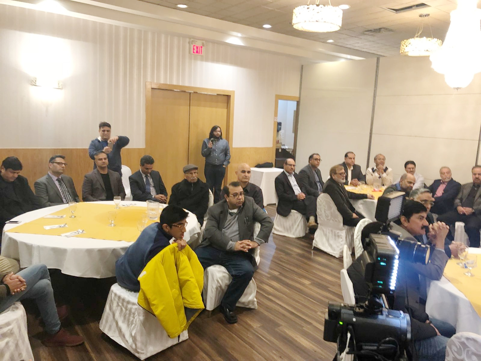 PTI Canada Meet the Press Event 2