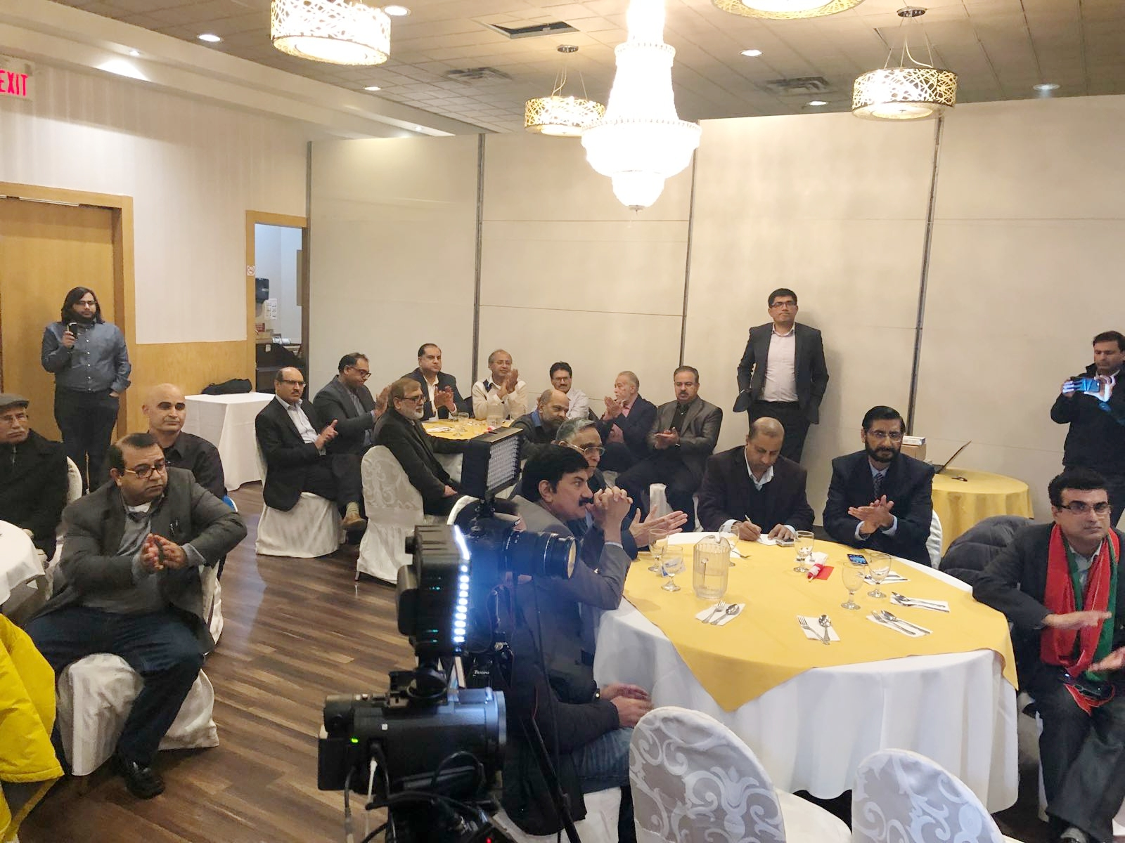 PTI Canada Meet the Press Event