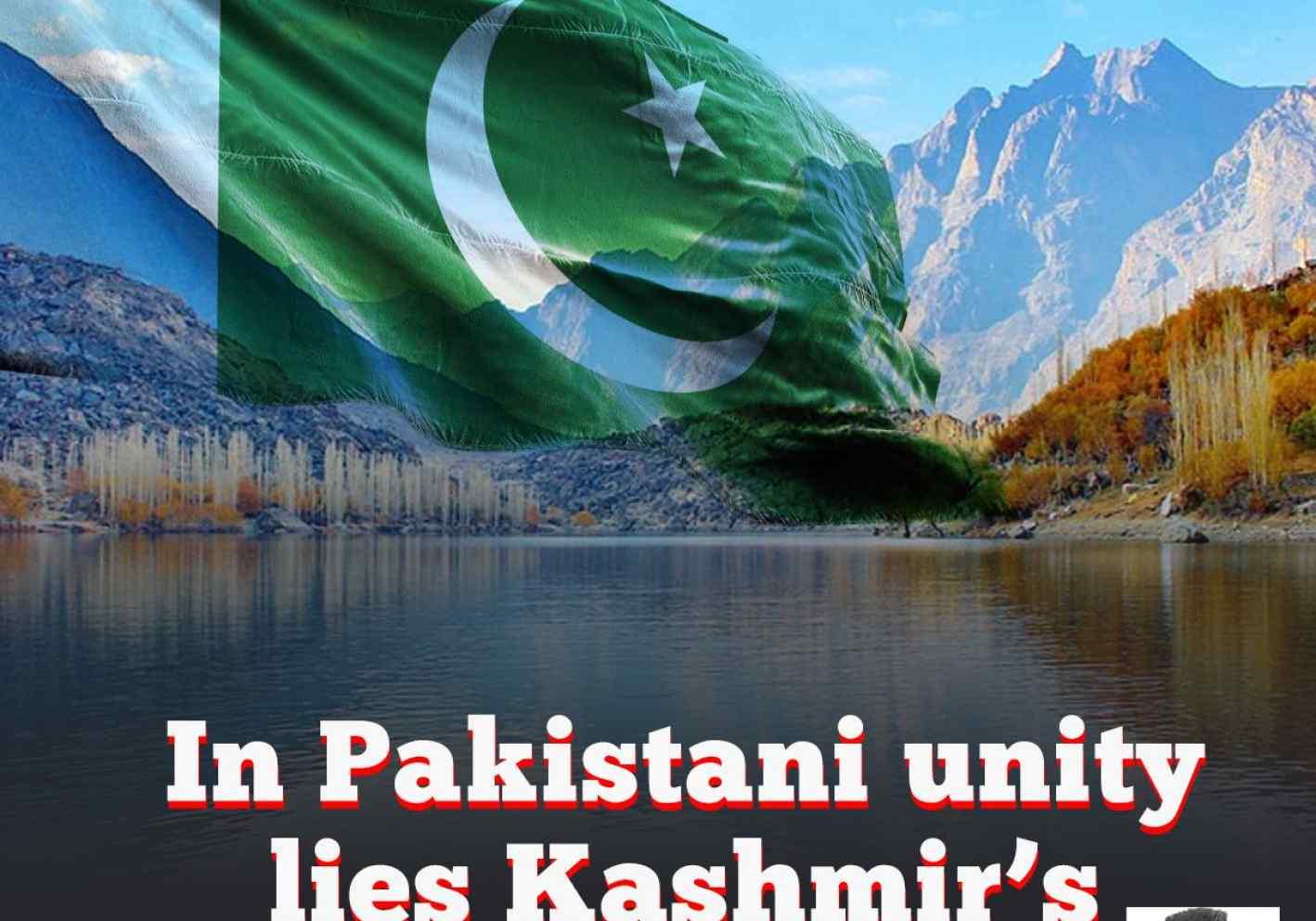 In Pakistani unity lies Kashmir's salvation